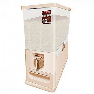 Beras Container Box Maspion 12 Kg Rice Box Container Rice MRD-12 Tempat Beras Maspion Original (5Kg)