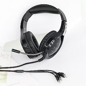 Headset Gaming Headset ROBOT RH-G10 Headset Game With Microphone Headphone Gaming Robot (600gr)