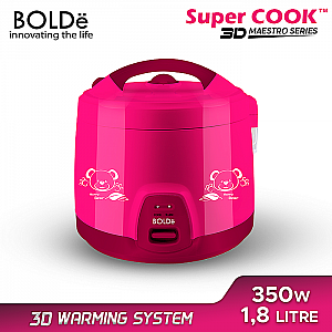 Rice Cooker Maestro Series 1,8 Liter Super Cook Bolde Supercook 3D Rice Cooker Bolde 3D (4.200gr)