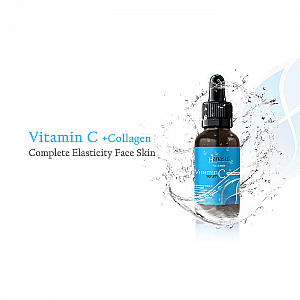 Hanasui SERUM WAJAH Serum Vitamin C + Collagen 20ml Grosir Serum Hanasui Murah Serum Bpom (100gr)