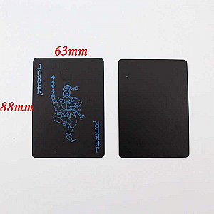 KARTU REMI PLASTIK Kartu Remi Anti Air PVC Anti Air Waterproof Poker Blackjack Card Joker (100gr)