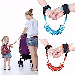 GELANG ANTI HILANG ANAK Safety Strap Child Tracking Anak Anti Lost Child Wrist Strap Safety (200gr)