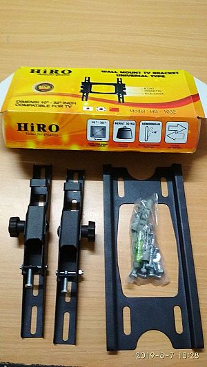 BRACKET TV Universal Hiro HB-1032 Bracket Anti Slip Braket TV Breket Dinding Bracket TV LED Murah