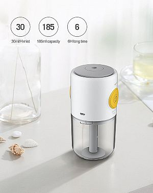 Humidifier Xiaomi Deerma DEM-LM09 Aromatherapy Portable Mini Air Purifier Aromaterapi Air Diffuser